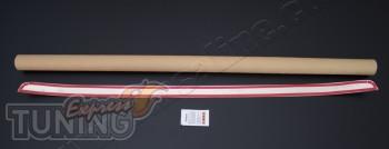 Хром накладка на кромку багажника Бмв Х5 Е70 (хром молдинг крышк