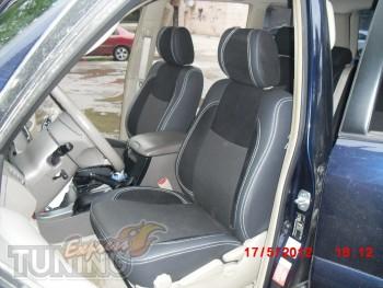Чехлы в салон Тойота Прадо 120(авточехлы на сиденья Toyota Prado