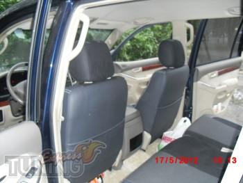 Чехлы для автомобиля Тойота Прадо 120(авточехлы на сиденья Toyot