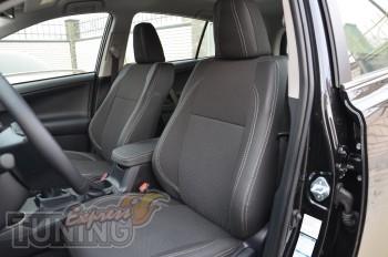 Чехлы Тойота Рав 4 4(авточехлы на сиденья Toyota Rav 4 4)