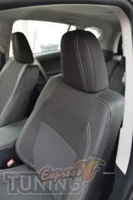 Чехлы для салона Тойота Рав 4 4(авточехлы на сиденья Toyota Rav