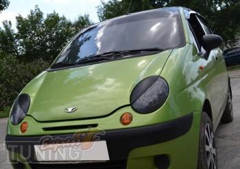 Реснички декоративные на фары Daewoo Matiz (Дэу матиз)