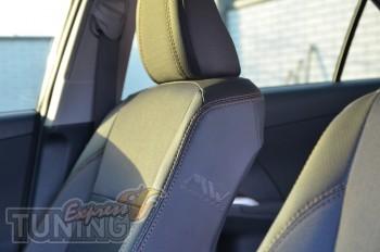 Чехлы в салон Тойота Камри 50 (авточехлы на сиденья Toyota Camry