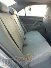 заказать Чехлы Тойота Камри 40 (авточехлы на сиденья Toyota Camr