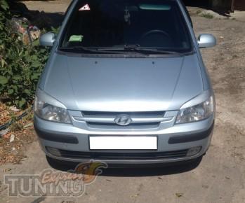 Заказать реснички на передние фары Hyundai Getz (Киев Экспресстю