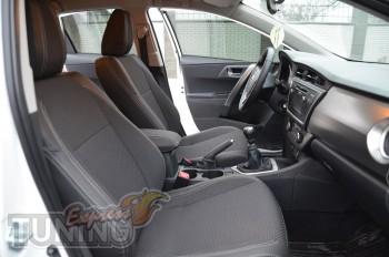 заказать Чехлы Тойота Аурис 2 (авточехлы на сиденья Toyota Auris