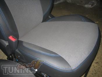 Чехлы в салон Киа Рио 3 (авточехлы на сиденья Kia Rio 3 hatchbac