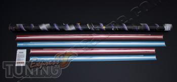 Хром окантовка окон Ford Focus 2 хэтчбек (хром молдинги стекол д