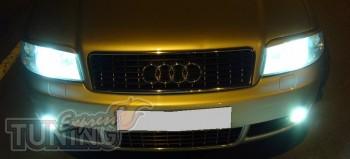 Ресницы на фары для Audi A6 C5 магазин ЭкспрессТюнинг