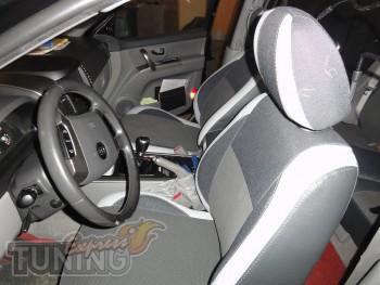 Чехлы Киа Соренто 1 (авточехлы на сиденья Kia Sorento 1)