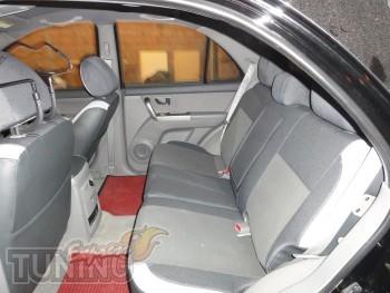 заказать Чехлы в авто Киа Соренто 1 (авточехлы на сиденья Kia So