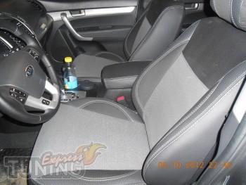 Чехлы Киа Соренто 2 (авточехлы на сиденья Kia Sorento 2)
