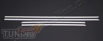 Хромированные дверные молдинги Hyundai I30 2 GD фото (хром окант