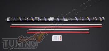 Купить хром накладки на молдинги дверей Hyundai I30 2 GD (фото х