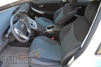 Чехлы в салон Тойота Приус (авточехлы на сиденья Toyota Prius)
