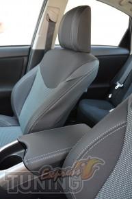 Чехлы для авто Тойота Приус (авточехлы на сиденья Toyota Prius)