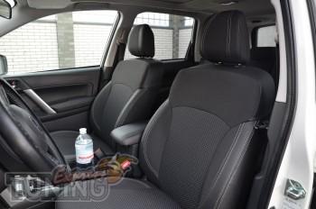 Чехлы в салон Субару Форестер 4 (авточехлы на сиденья Subaru For