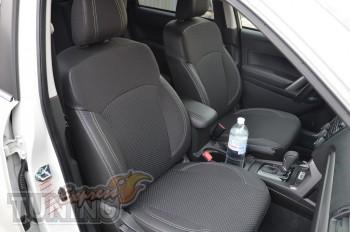 заказать Чехлы Субару Форестер 4 (авточехлы на сиденья Subaru Fo