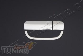 Хромированная накладка на ручку задней двери Мерседес Вито 639 (