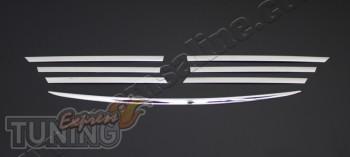 Хром накладка на решетку Мерседес Вито 639 Omsa (хром окантовка