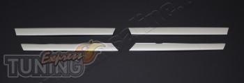 Хромированные накладки на решетку Mercedes Vito 639 facelifting