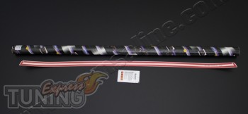 Купить хром молдинг багажника Mitsubishi Lancer X (хром кант баг