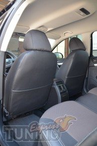 Чехлы в авто Шкода Октавии А5 (авточехлы на сиденья Skoda Octavi