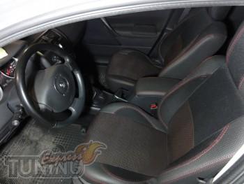 Чехлы в салон Рено Меган 2 (авточехлы на сиденья Renault Megane