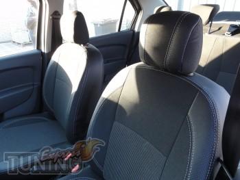 Чехлы Рено Логан 2 (авточехлы на сиденья Renault Logan 2)