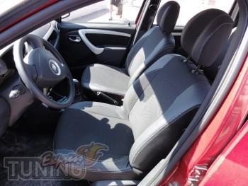Чехлы в салон Рено Логан МСВ(авточехлы на сиденья Renault Logan
