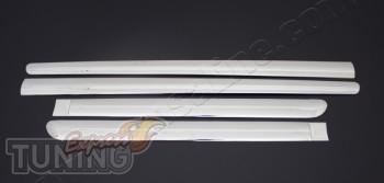 Купить хромированные накладки на дверные молдинги Peugeot 307 (х
