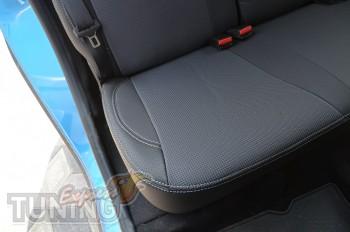 Чехлы для салона Рено Сандеро 2 (авточехлы на сиденья Renault Sa