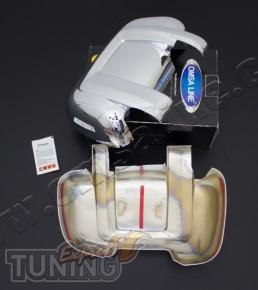 Хром накладки на боковые зеркала Peugeot Boxer (хром пакет на зе