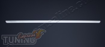 Хромированная кромка крышки багажника Пежо Партнер 2 (хром кант