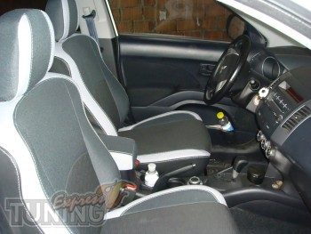 купить Чехлы в салон Пежо 4007 (авточехлы на сиденья Peugeot 400