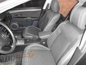 Чехлы в авто Mazda 3 (авточехлы на сиденья Мазда 3)
