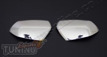 Хром накладки на зеркала Skoda Octavia A5 (хромированные крышки