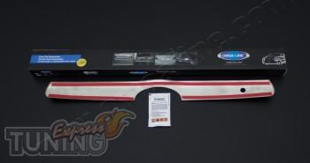 Хром молдинг крышки багажника Toyota Camry 40 (хром окантовка пл