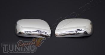 Купить хромированные накладки на зеркала Тойота Камри 40 2006-20