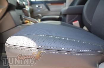 Чехлы для авто Митсубиси Паджеро Вагон 4 (авточехлы на сиденья M