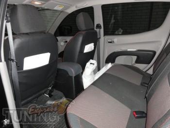 Чехлы в авто Митсубиси Л200 (авточехлы на сиденья Mitsubishi L20