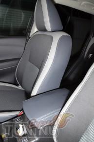 Чехлы для автомобиля Ниссан Кашкай 2 (авточехлы на сиденья Nissa