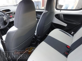 заказать Чехлы Тойота Айго (авточехлы на сиденья Toyota Aygo)
