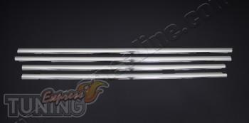 Хромированные молдинги стекол Фольксваген Джетта 5 (купить нижни