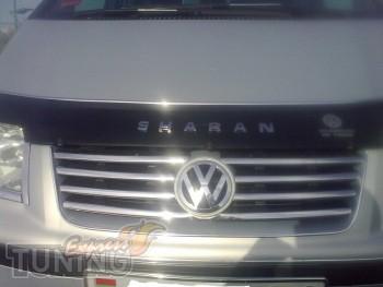 Хромированные накладки на решетку Volkswagen Sharan 1 2000-2004