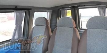купить Шторки Fiat Doblo (заказать автомобильные шторки Фиат Доб
