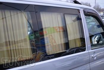 Шторки на Фольксваген Транспортер Т5 (автомобильные шторки в Vol