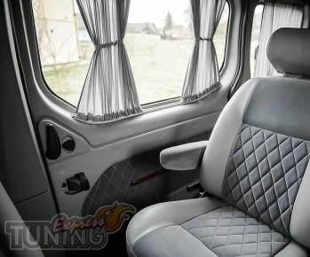 Шторки Опель Виваро (автомобильные шторки Opel Vivaro)