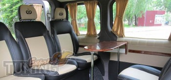 Шторки в салон Опель Виваро (автомобильные шторки на стекла Opel