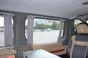 Шторки на стеклаОпель Виваро (автомобильные шторки в салон Opel